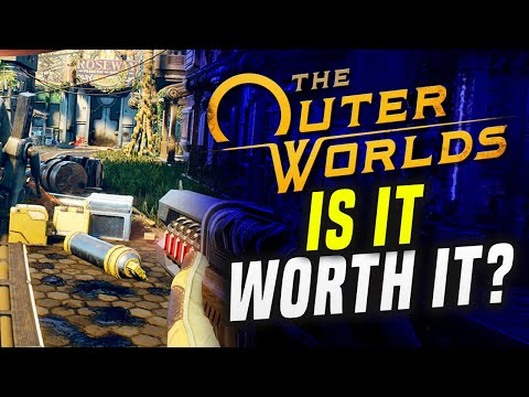 TOO BAD TO BUY?! The Outer Worlds Switch Gameplay - Is It Worth It? How Does It Run?