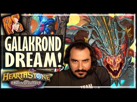 THE GALAKROND DREAM! - Hearthstone Battlegrounds