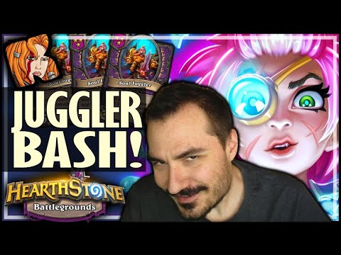 SHORT GAME JUGGLER BASH! - Hearthstone Battlegrounds
