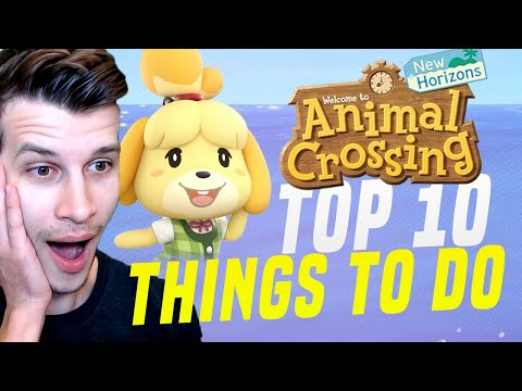 Animal Crossing 10 MOST FUN THINGS YOU NEED To Do! (New Horizons Tips)