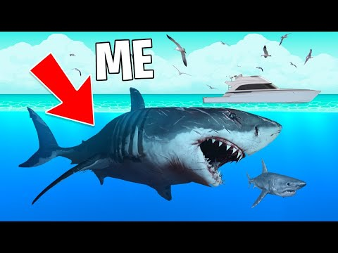 ULTIMATE MEGALODON SHARK! (Maneater, Part 3)