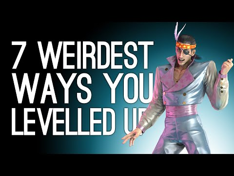 7 Weirdest Ways You Levelled Up in Games