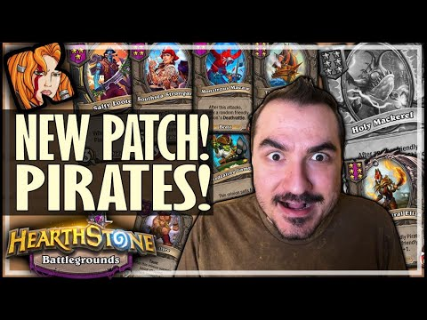 BG MEGAPATCH! PIRATES & HUGE CHANGES! - Hearthstone Battlegrounds