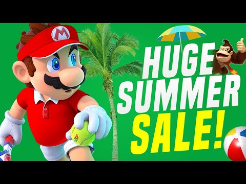 MAJOR Nintendo Switch Summer Game Sale on eShop! (FIRST PARTY)
