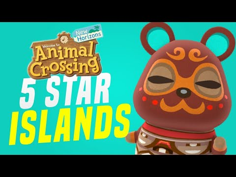 EPIC Animal Crossing 5 Star Island Tours and New Horizons Island Update! (Animal Crossing Tips)