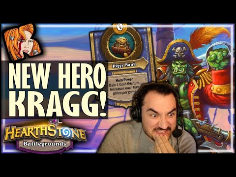 NEW HERO = KING OF MURLOCS! - Hearthstone Battlegrounds