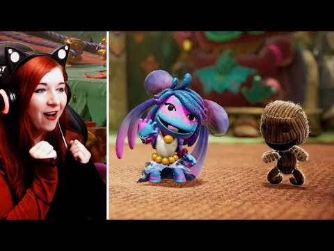 Sackboy Is Back! - Sackboy A Big Adventure Trailer Reaction Video - PS5 - THE FUTURE OF GAMING SHOW