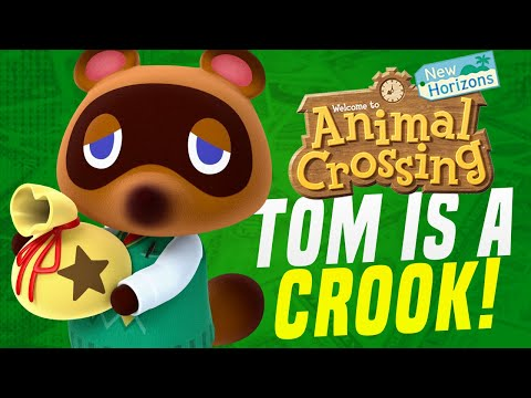 MISSING UPDATES in Animal Crossing New Horizons... Gabe's Tom Nook Experience! (Switch Update)