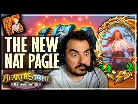 HOW GOOD IS NEW PAGLE CARD? - Hearthstone Battlegrounds