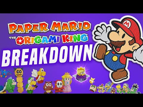 Paper Mario BRINGS FUN Back to Nintendo Switch! (The Origami King First Look Switch Gameplay)