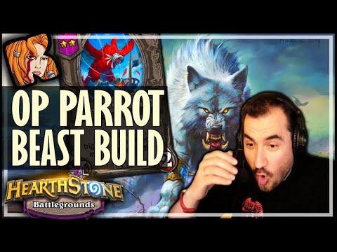 THE ULTIMATE NEW BEAST BUILD! - Hearthstone Battlegrounds
