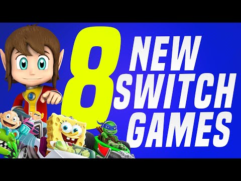 8 NEW Switch Games JUST Announced Coming to Nintendo eShop! (Switch Update Releases)