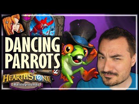 PARROTS CAN REALLY DANCE! - Hearthstone Battlegrounds