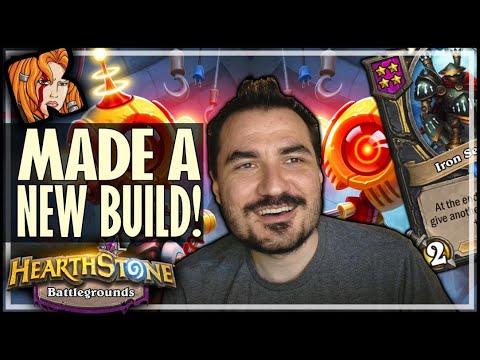 I MADE A NEW BUILD?! - Hearthstone Battlegrounds