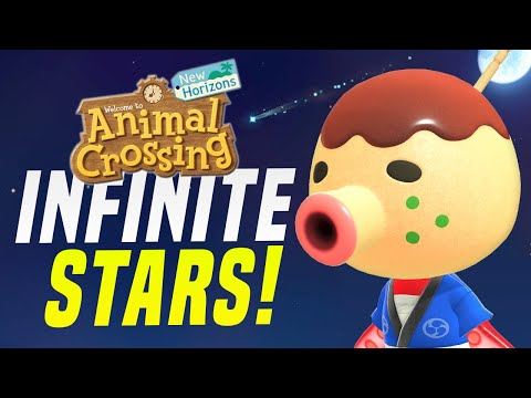 Predict EVERY Shooting Star in Animal Crossing!  (New Horizons Tips for Meteor Showers)