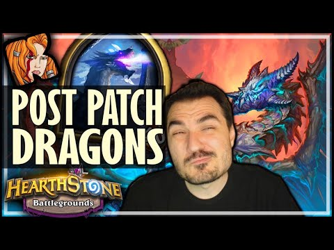 DRAGONS IN THE PIRATES PATCH?! - Hearthstone Battlegrounds