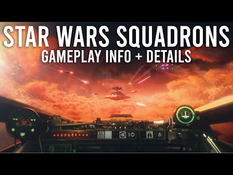 Star Wars Squadrons Gameplay Info and Details