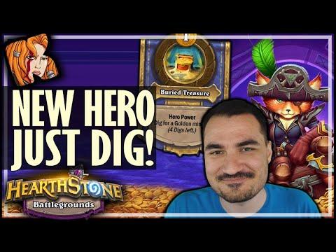 JUST DIG! ALWAYS ALWAYS DIG DIG DIG - Hearthstone Battlegrounds