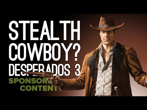 STEALTH COWBOY? Desperados III Gameplay on Xbox One X - Let's Play Desperados 3 (Sponsored Content)