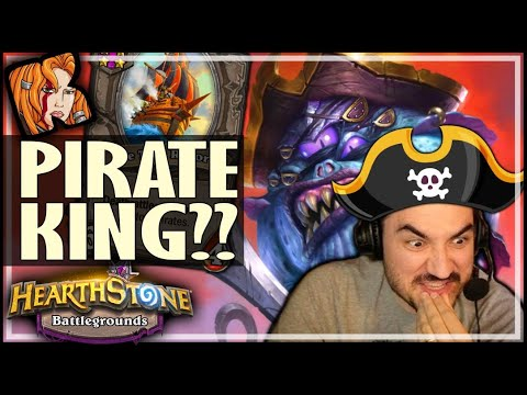 PATCHES = PIRATE KING? NOT ALWAYS... - Hearthstone Battlegrounds