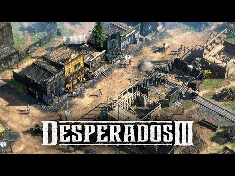 Desperados 3 - Mission 3: Troublemakers in Flagstone (Desperados, No Save)