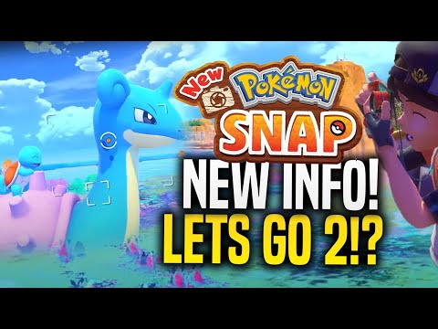 NEW Pokemon Snap and Pokemon Let's Go 2 ARE BIG Switch Games Fans Want!