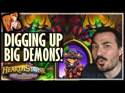DIGGING UP BIG DEMONS IN 2020?! - Hearthstone Battlegrounds