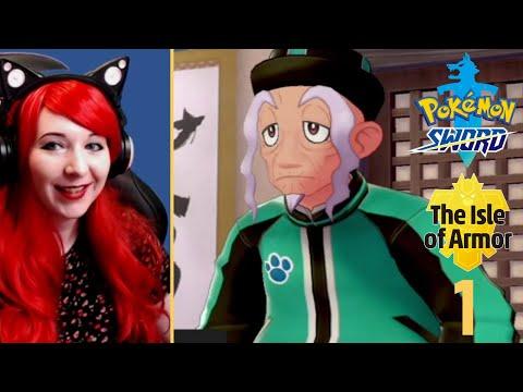 Catching New Pokemon + Meeting The Dojo Master - Pokemon Isle Of Armor DLC Walkthrough Part 1