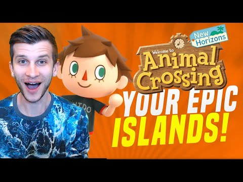 EPIC ISLAND VISITS AND ANIMAL CROSSING UPDATES! (New Horizons Tips)