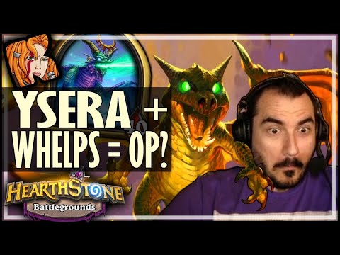 WHELPS ARE FINALLY OP IN THIS META! - Hearthstone Battlegrounds