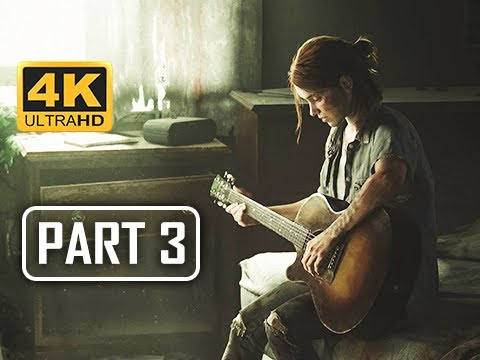 The Last of Us Part 2 Gameplay Walkthrough Part 3 - Guitar Girl (4K PS4 PRO)