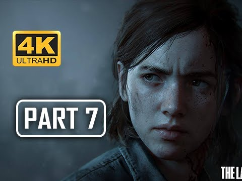 The Last of Us Part 2 Walkthrough Part 7 - Silencer (4K PS4 PRO Gameplay)