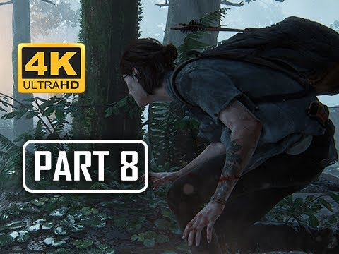 The Last of Us Part 2 Walkthrough Part 8 -  (4K PS4 PRO Gameplay)