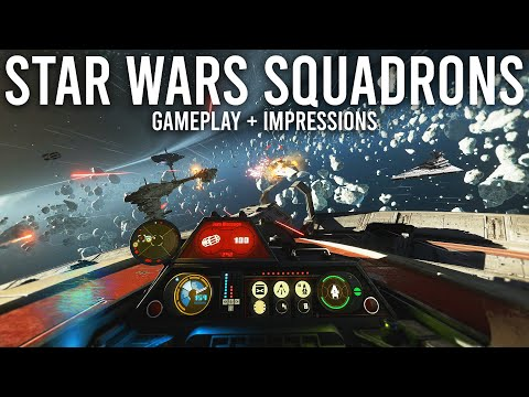 Star Wars Squadrons Gameplay and First Impressions