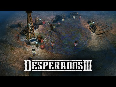 Desperados 3 - Mission 5 The Magnificent Five (Desperado, No Save)