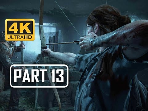 The Last of Us Part 2 Walkthrough Part 13 - BOW (4K PS4 PRO Gameplay)