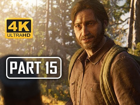 The Last of Us Part 2 Walkthrough Part 15 - Tommy (4K PS4 PRO Gameplay)