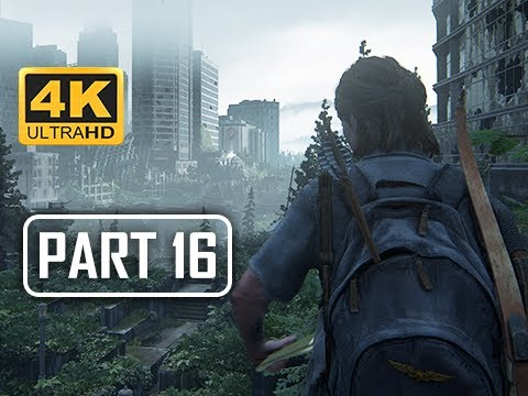 The Last of Us Part 2 Walkthrough Part 16 - Jumped (4K PS4 PRO Gameplay)
