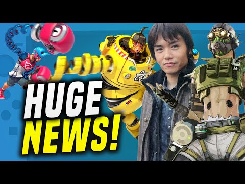 SAKURAI Presents NEW Smash Arms Fighter... APEX Legends Switch AND MORE! (Switch News)