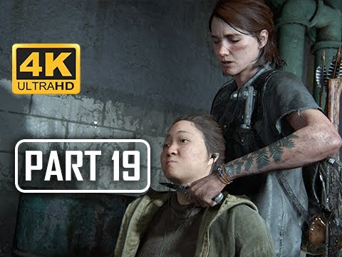 The Last of Us Part 2 Walkthrough Part 19 - Hospital (4K PS4 PRO Gameplay)