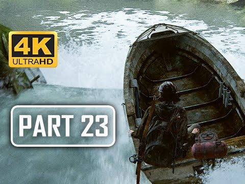 The Last of Us Part 2 Walkthrough Part 23 - Boat (4K PS4 PRO Gameplay)