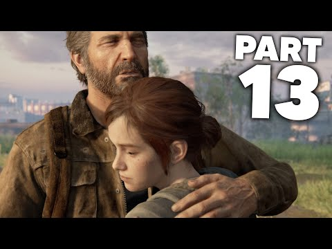 THE LAST OF US 2 Gameplay Walkthrough Part 13 - BOAT (The Last of Us Part 2)