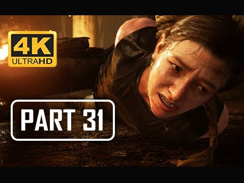 The Last of Us Part 2 Walkthrough Part 31 - Lev & Yara (4K PS4 PRO Gameplay)