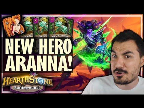 NEW HERO + PRE-NERF DINO = GAME BREAKS - Hearthstone Battlegrounds