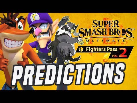 The New Smash Bros. Fighters Are...