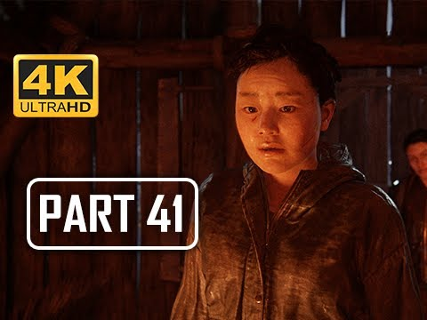 The Last of Us Part 2 Walkthrough Part 41 - Brother's Keeper (4K PS4 PRO Gameplay)