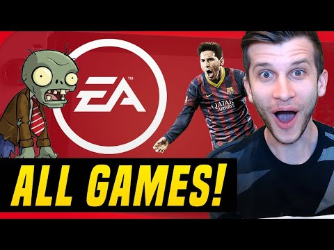 ALL 7 NEW EA SWITCH GAMES REVEALED For 2020 - 2021!