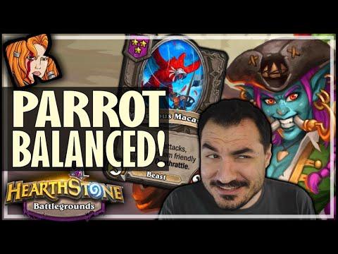 PARROT IS NOW BALANCED! - Hearthstone Battlegrounds
