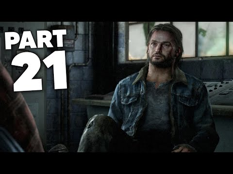THE LAST OF US 2 Gameplay Walkthrough Part 21 - TOMMY ???  (The Last of Us Part 2)