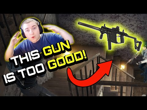 this gun is TOO GOOD - PUBG XBOX ONE  PS4 Gameplay